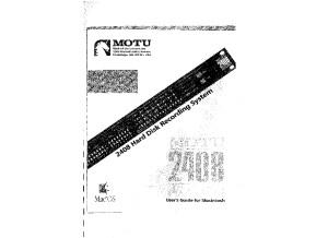 Manuel 2408 mk2 FR MacOS
