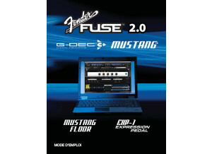FenderFUSE 2,MustangAmplifiers French