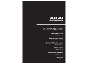 Advance61 QuickstartGuide v1.0