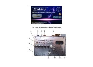 FAC Tube HP Simulation (Mode d''emploi)