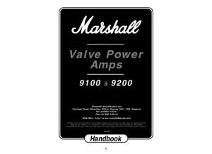 9100 & 9200 Manual