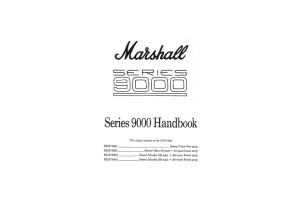 9001 & 9005 & 9040 & 9060 Manual