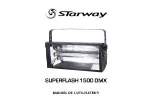 STARWAY+SUPERFLASH+1500+DMX+STROBOSCOPE.PDF
