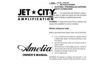 Jet City Amelia