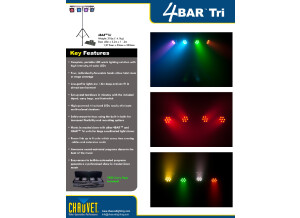 4bar Tri   Tri Color Leds   Full Package Kit   Features