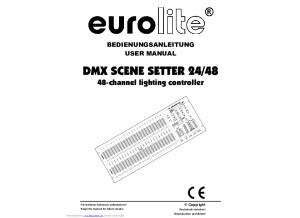 Eurolite dmx scene setter 2448