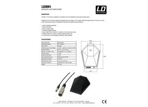 LDBM1 LD Systems EN DE FR ES PL