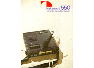 Nakamichi 550 brochure