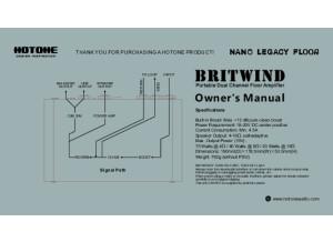 Hotone BritWind Manual