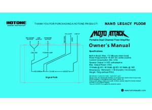 Hotone Mojo Attack Manual