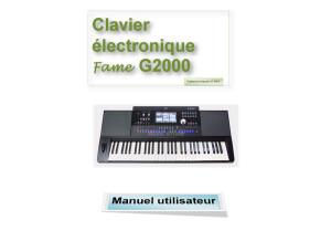 MEDELI A1000 FAME  G2000 Manuel en Français