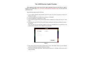 The A1000 Firmware Update Procedure