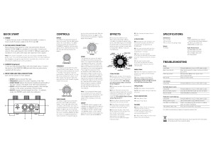 Source Audio Soundblox Bass Envelope Filter Manual