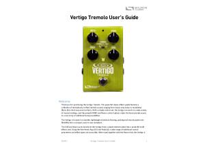 Source Audio Vertigo Manual