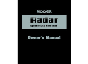 Radar_Manual_EN_V01
