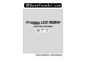 Boom Tone DJ Froggy Led RGBW