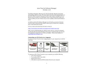 ATG Software Manager v1.1.0