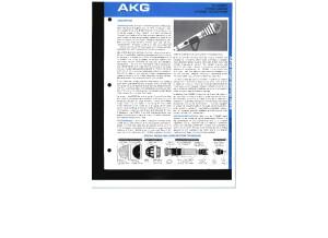 AKG D-330BT Hypercardioid Dynamic Microphone