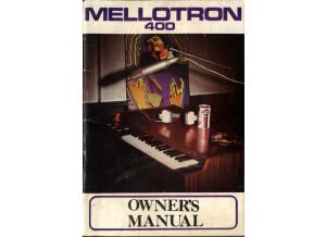 001 Mellotron 400 Owner's Manual