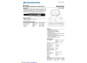 Sennheiser MKH 80-P48