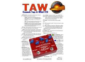Cusack Music Tap-A-Whirl
