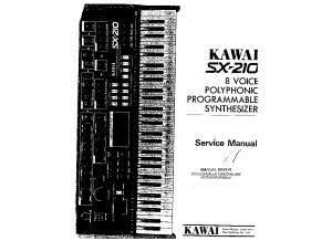 Kawai SX-210 Service Manual