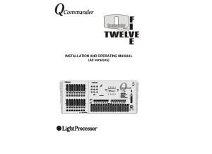 LightProcessor QCommander Operating Manual