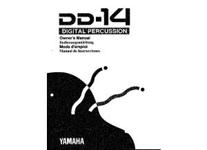 Manuel Yamaha DD-14