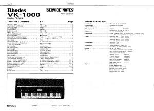 VK-1000_SERVICE_NOTES