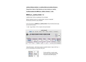 2-MM49.pro - JamKey Editor and firmware_UpDate_1_4