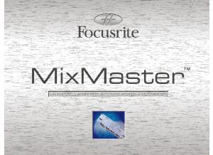 Focusrite MixMaster - Brochure