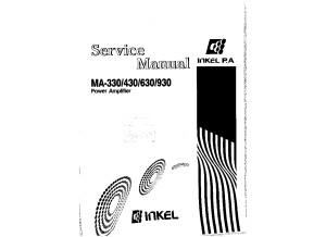 INTER M INKEL 930 SERVICE MANUEL