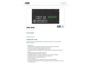 Img Stageline Dmx 4840 Specs
