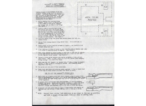 Flyer mounting instructions