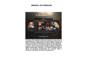 Manuel X Drummer Français