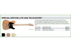 Fender Telecaster Prix catalogue
