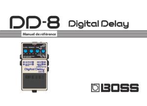 Boss DD-8 manuel de référence FR