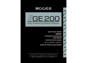 Mooer GE200 Quick Guide