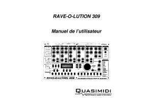 Rave-O-Lution 309 Manuel