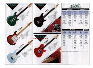 Starfield Altair & Cabriolet 1992 Catalog