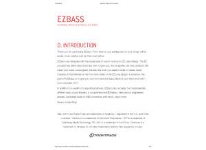 EZbass  Manual Toontrack