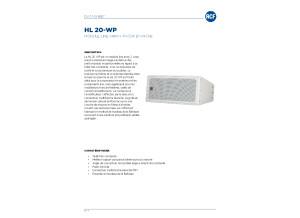 HL 20-WP linne array passif 2290e
