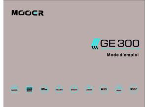 Manuel Utilisateur FR GE 300 Mooer