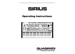 Quasimidi Sirius Manual