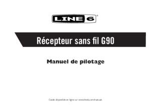Relay G90 Receiver Pilot's Guide - French ( Rev J )