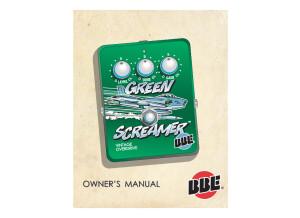 Manuel BBE Green Screamer