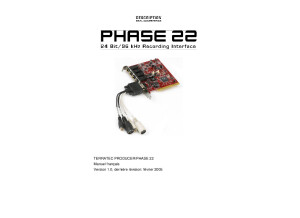 PHASE22 Manual FR