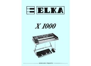 Elka X-1000