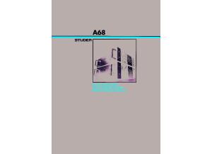 studer A68