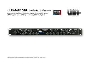 Ultimate Cab - guide utilisateur